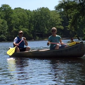 canoeing on the Muskegon River in the Newaygo Area